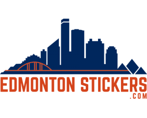 Edmonton Stickers Logo